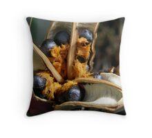 Strelitzia Seeds Throw Pillow