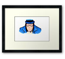The Question - Renee Montoya Framed Print