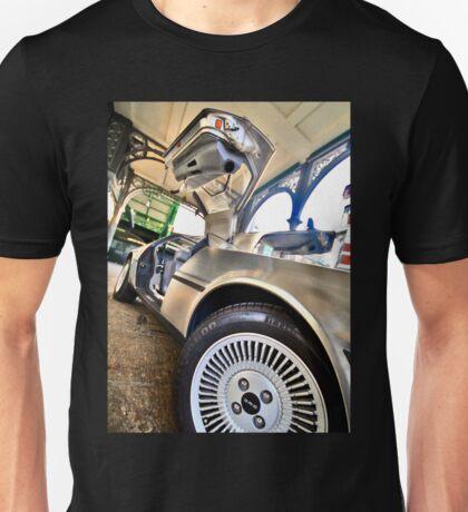 DMC Delorean at Borough Market Unisex T-Shirt