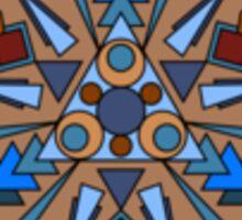 Mandala - Earth Child Sticker