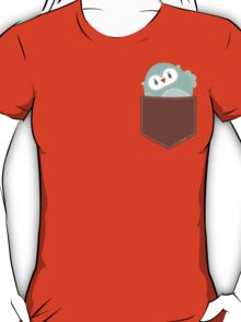 POCKET PALS :: owl - foam T-Shirt