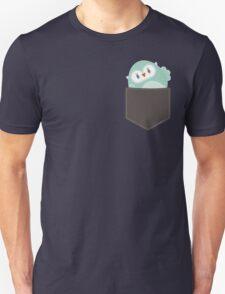 POCKET PALS :: owl - foam Unisex T-Shirt