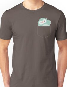 POCKET PALS :: owl - foam Unisex T-Shirt