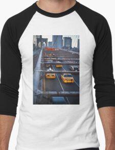 traffic light Men's Baseball ¾ T-Shirt