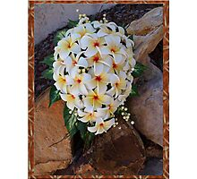 Wedding Bliss Photographic Print