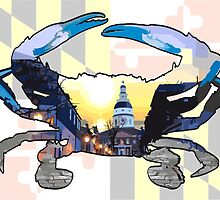 Cobblestone Crabs - Annapolis by DougPop