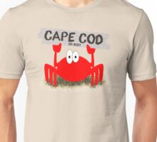 Cape Cod or Bust! Crab Unisex T-Shirt
