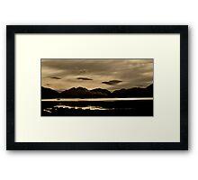 Across Loch Leven Framed Print