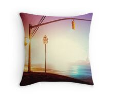 Foggy Night Throw Pillow