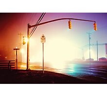 Foggy Night Photographic Print