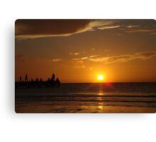 Mexican Sundown Canvas Print