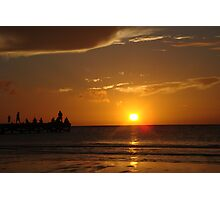 Mexican Sundown Photographic Print