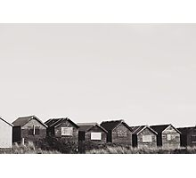 The Great British Beach Hut. Photographic Print