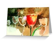 Tulips1 Greeting Card