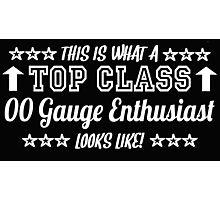 This Is What A Top Class 00 Gauge Enthusiast Looks Like Photographic Print