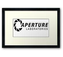 Aperture Science Framed Print