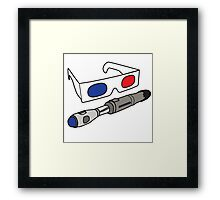 Doctor Who, Tenth Doctor Framed Print