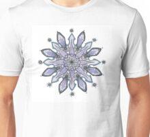 Blue Mandala of the Color Wheel Series Unisex T-Shirt