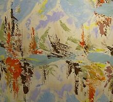 LangdonArt painting Paysage aux bruns View A of 2 by MaryLockhead