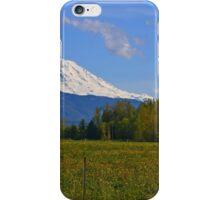 Mount Rainier Splendor iPhone Case/Skin