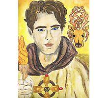 Aidan of Lindisfarne Photographic Print