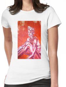 Sun Bathing Beauty Womens Fitted T-Shirt