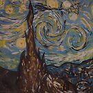 Vincent van Gogh by Kaser by Kaser Albeloochi