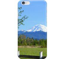 Mount Rainier Grandeur iPhone Case/Skin