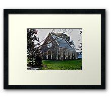 Uniting Church..HDR Framed Print