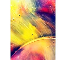 Solar storm 2 - watercolor abstraction painting Photographic Print