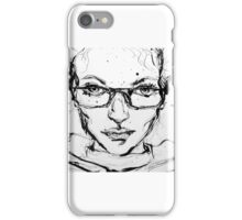 Ink Portrait iPhone Case/Skin