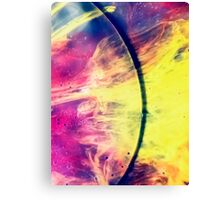 Solar storm 3 - watercolor abstraction painting Canvas Print