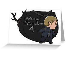 Tiny Hannigram 01 Greeting Card