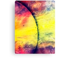 Solar storm 4 - watercolor abstraction painting Canvas Print
