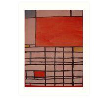 Piet Mondrian by Kaser Art Print