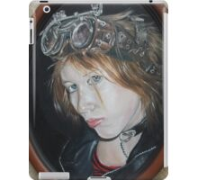 Steampunk Self Portrait iPad Case/Skin