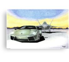 """Extreme Machines"" Canvas Print"