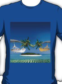 Beach hammocks  T-Shirt