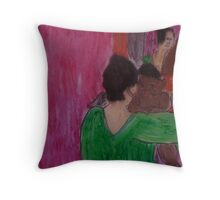 Mary Cassatt by Kaser Throw Pillow