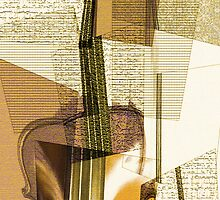 Cubist Violin by loveli