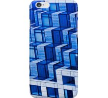 Abstract Architecture in Blue iPhone Case/Skin