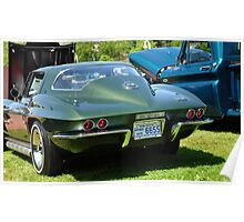 Classic 1967 Corvette Stingray Poster