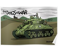 Dogs of War: Sherman Tank Poster
