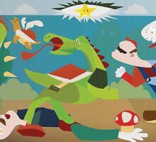 War of Mushroom Kingdom by sparkmark