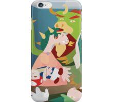 War of Mushroom Kingdom iPhone Case/Skin