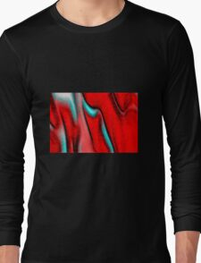 Red Evolution Long Sleeve T-Shirt