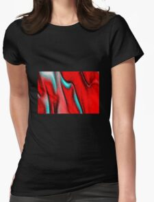Red Evolution Womens Fitted T-Shirt