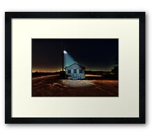 Cape Cod Fish Market Framed Print