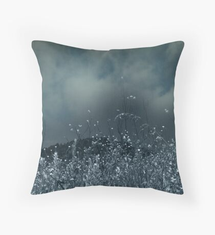 Blue For No Reason Throw Pillow