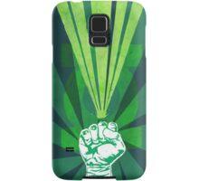 Green Lantern's light Samsung Galaxy Case/Skin